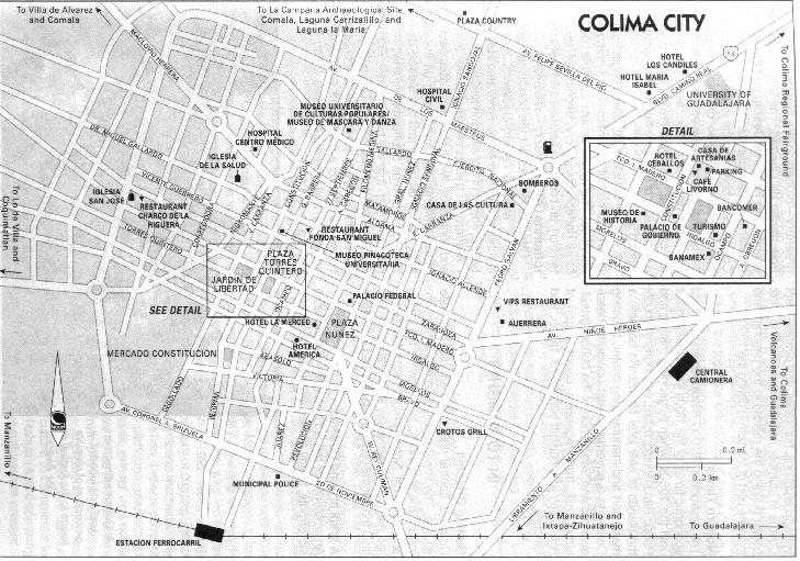 Google Maps Colima Gomanzanillo