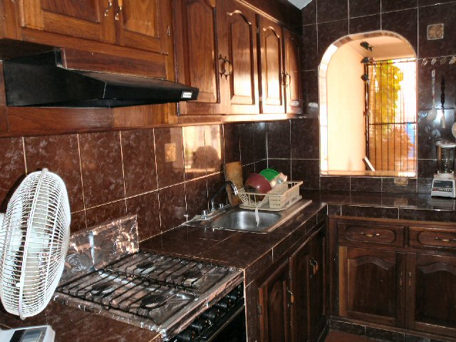 Mexican style hacienda for Mexican style kitchen pictures