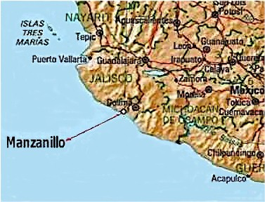 Find Tropical Manzanillo Mexico